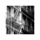 Fire Escape Impresso gicle por Erin Clark