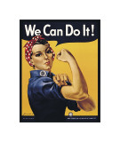 We Can Do It! Impressão giclée por J. Howard Miller
