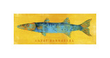 Great Barracuda Giclee Print by John Golden
