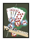 Dream Hand Gicle-tryk af Brian James