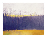 Gray-Violet Landscape Giclee Print by Wolf Kahn