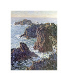 Rock Points at Belle-Ile, c.1886 Giclee Print by Claude Monet