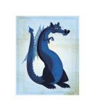 Blue Dragon Giclee Print by John Golden