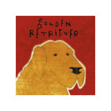 Golden Retriever Giclee Print by John Golden