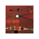 Red Seed, no. 34 Giclee Print by Bill Mead
