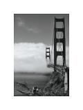 Golden Gate Fog Giclee Print by Sabri Irmak