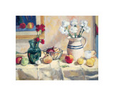 Still Life with Vase and Pitcher Giclee Print by  Saladino