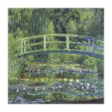 Water Lily Pond, c.1899 (blue) Lámina giclée por Claude Monet