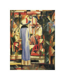 Large Bright Showcase Giclee Print by Auguste Macke