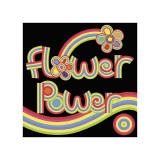 Flower Power Giclee Print by Mali Nave