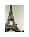 Eiffel Tower from the River Seine Giclée-tryk af Christian Peacock
