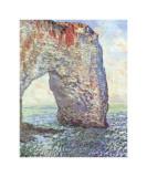 The Manneporte near Etretat, c.1886 Impressão giclée por Claude Monet
