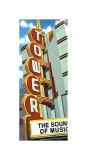 Tower Theater Giclée-tryk af Anthony Ross