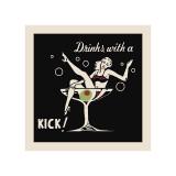 Drinks with a Kick Giclee Print