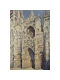 The Portal and the Tour d'Albane in the Sunlight, c.1984 Giclee Print by Claude Monet