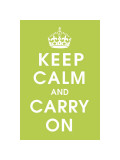 Keep Calm (kiwi) Giclee Print