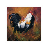 Rooster, no. 503 Giclee Print by  Roz