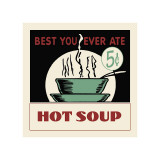 Hot Soup Giclee Print