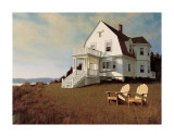 Oceanfront View Giclee Print by Zhen-Huan Lu