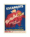 Escargots Menetrel Giclee Print