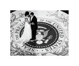 President Obama and the First Lady Giclee Print