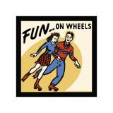Fun On Wheels Giclee Print