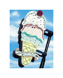 Ice Cream Giclee Print by Anthony Ross