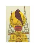 Early Bird Giclée-tryk af Amy Ruppel
