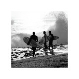 Surfers Giclée-tryk af Harold Silverman