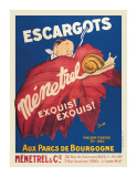 Escargots Menetrel Giclee Print