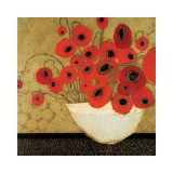 Frida's Poppies Impresso gicle por Karen Tusinski