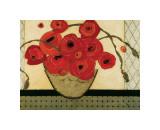 Poppies for the Host Giclée-tryk af Karen Tusinski