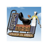 Dad's Southern Style Bar-B-Q Giclee Print by Anthony Ross