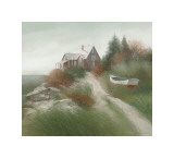 Autumn in Rockport Giclee Print by Albert Swayhoover