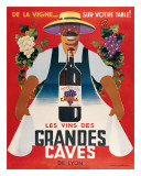 Grandes Caves Giclee Print