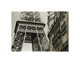 Eiffel Tower Street View, no. 3 Giclee Print by Christian Peacock