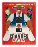 Grandes Caves Giclée-Druck