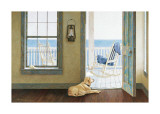 Looking Over the Sea Giclee Print by Zhen-Huan Lu