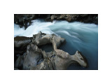 Kicking Horse River, Alberta Giclee Print by Andrew Ren
