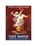 Cafe Martin Giclee Print