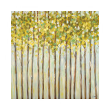 Different Shades of Green Giclee Print by Libby Smart