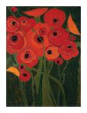 Karen Tusinski - Wild Poppies - Giclee Baskı