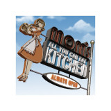 Mom's All-You-Can-Eat Kitchen Giclée-tryk af Anthony Ross