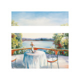 Summer Patio Giclee Print by David Weiss