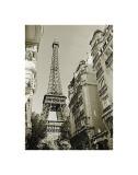 Eiffel Tower Street View, no. 1 Giclée-tryk af Christian Peacock
