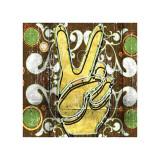 Peace I Giclée-tryk af Anthony Ross