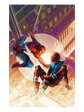 Spider-Man: The Clone Saga No.1 Cover: Spider-Man and Scarlet Spider Art by Pasqual Ferry