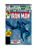 The Invinvible Iron Man 152 Cover: Iron Man Print by Bob Layton