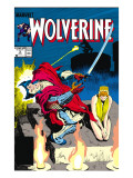 Wolverine No.3 Cover: Wolverine Prints by John Buscema