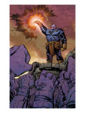 Thanos 9 Cover: Thanos Poster par Keith Giffen